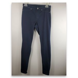 Hue dark denim leggings size s